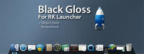 themes rk launcher black gloss for rk launcher by thepm34 on deviantart
