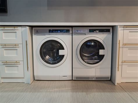 under cabinet washer dryer combo electrolux compact washer and dryer pair needs no vents