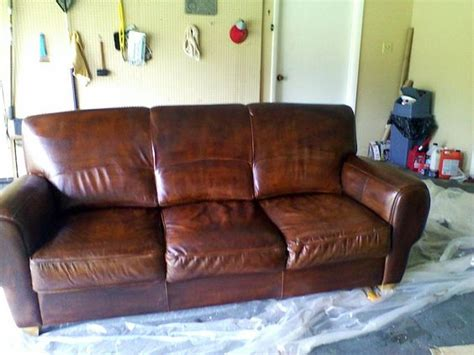 re dyeing leather sofa pinterest the world s catalog of ideas