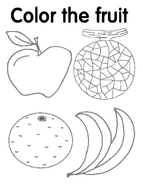 Esl Fruit Coloring Pages Coloring Pages Coloring Pages Esl