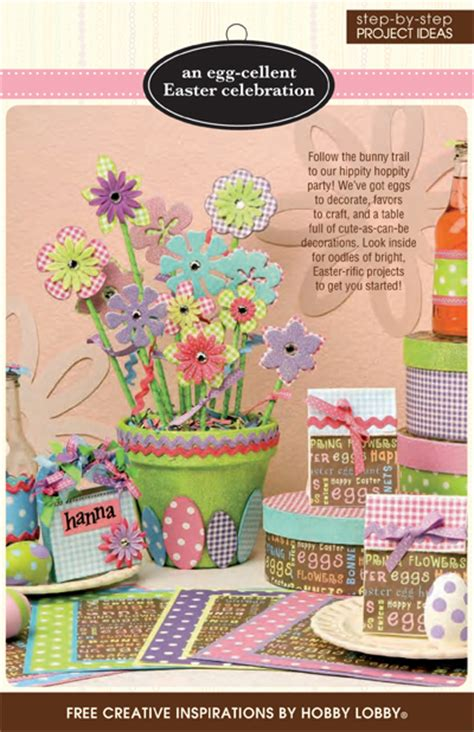 hobby craft projects hobbylobby projects an egg cellent easter celebration