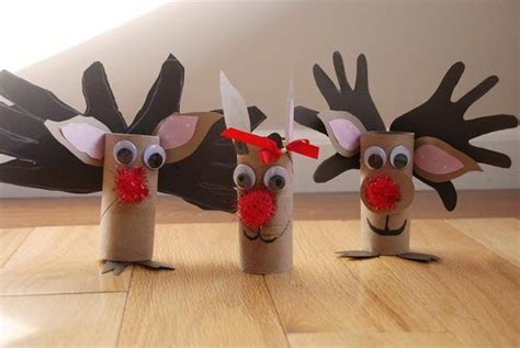 Reindeer Paper Crafts - reindeer rudolph craft quotes quotesgram
