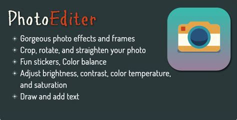photo editor android photo editor for android using aviary app script