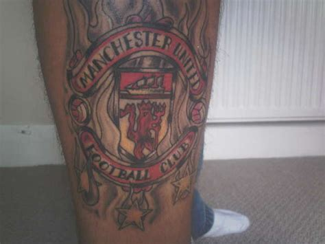 tattoo lettering manchester manchester united badge on fire with 3 stars 68 99 08 tattoo