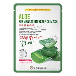 Noblesse Fermentation Essence Mask 주 테라선