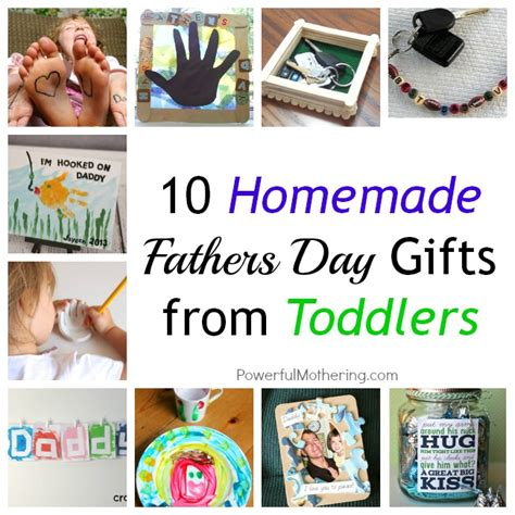 Handmade Fathers Day Presents - 10 fathers day gifts from toddlers