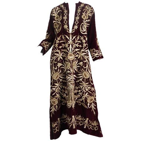 ottoman empire dress antique ottoman gold embroidered velvet dress from turkey