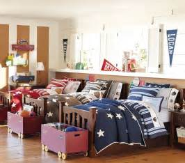 Triplets In Their Bedroom Rooms For Triplets Creative Ideas And Designs
