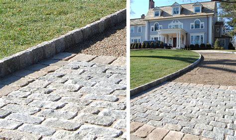 Belgian Block Patio belgian block cording landscape design