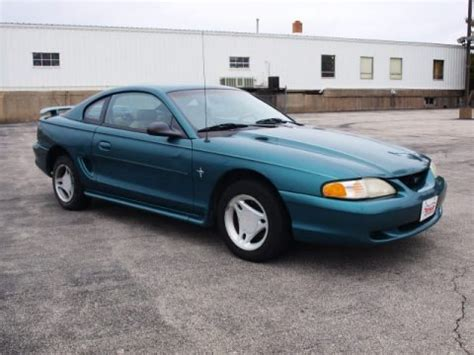 1996 ford mustang v6 coupe data info and specs gtcarlot