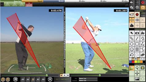 golf swing analysis software coaching software