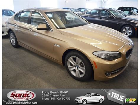 2013 beige metallic bmw 5 series 528i sedan 75394533 gtcarlot car color galleries