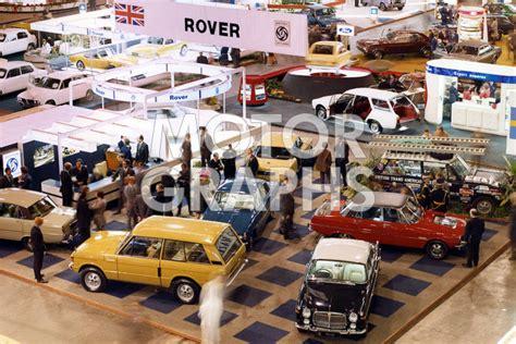 earls court motor show london earls court motor show 1972 motorgraphs