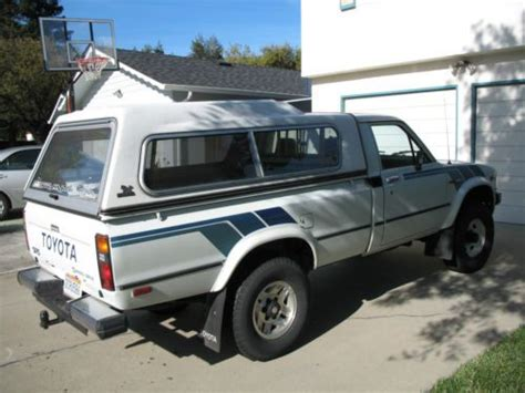 1983 Toyota Bed Buy Used 1983 Toyota Tacoma Sr5 4x4 Bed Truck In