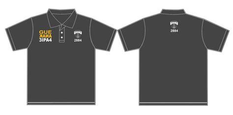 gambar design polo shirt alumni konveksi sablon bordir