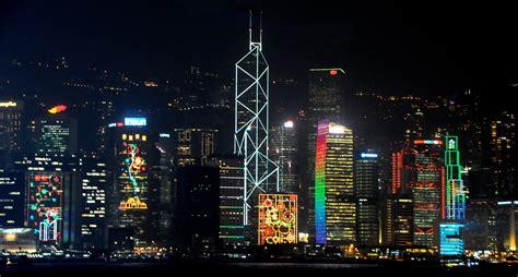 hong kong light show kowloon the prosaic traveller