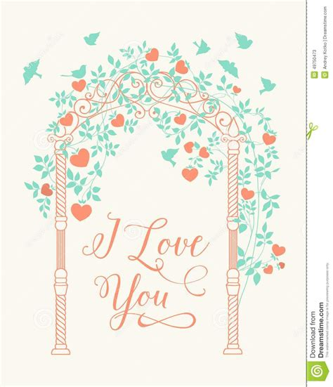 Wedding Arch Vector by Wedding Arch Stock Vector Image Of Design Leaf