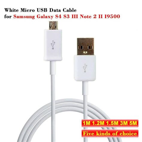 galaxy s4 quality galaxy s4 1m micro usb data cable tpe top quality for