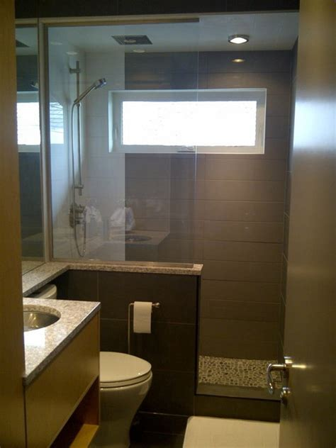 Modern Bathroom Design Ideas Small Spaces Small Spaces Bathroom Contemporary Bathroom Calgary By Cvk