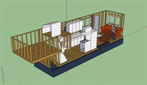 Tiny House Layout On Gooseneck Trailer Things I Like Tiny House Gooseneck Trailer