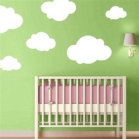 Nursery Wall Decals With Modern Flair Nursery Wall Decals