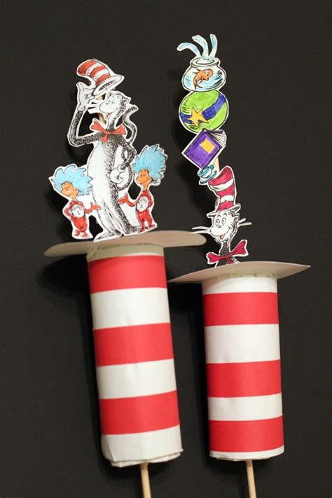 dr seuss crafts for 10 beloved dr seuss books coordinating activities the