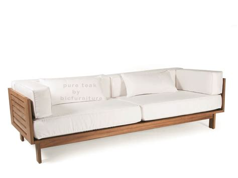 loveseat contemporary modern wood sofa home design