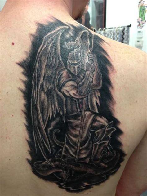 tattoo angel knight mid evil angel knight tattoo