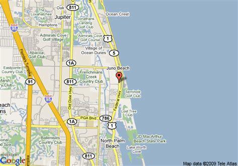 map of juno florida hton inn jupiter juno palm deals