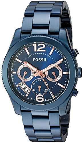 Fossil Boyfriend Multifunction Blue Stainless Steel Es4093 fossil s quartz stainless steel casual color blue model es4093 101 best