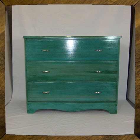Blue Dresser by Crafted Turquoise Dresser Furniture Custom Quot Blue
