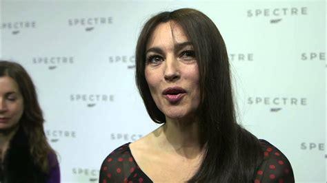 monica bellucci james bond interview spectre monica bellucci quot lucia sciarra quot interview on the