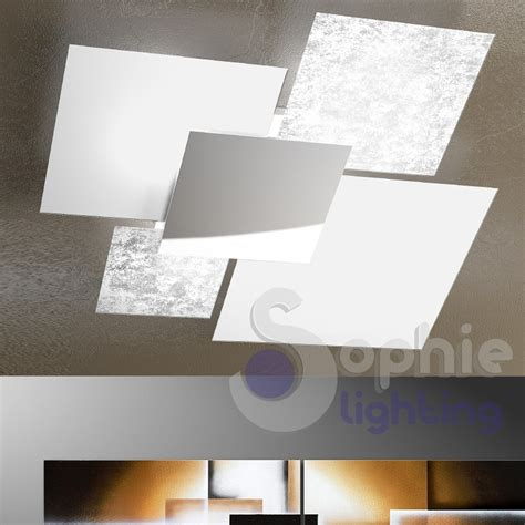 soffitto design ladario soffitto design minimal grande 91x86 vetri 4