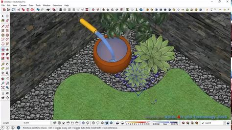 mapinfo layout window landscape simple garden design process with sketchup youtube