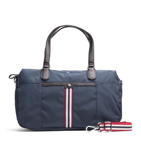 Quincy Label Louis Bag lyst hilfiger piper duffle bag in blue