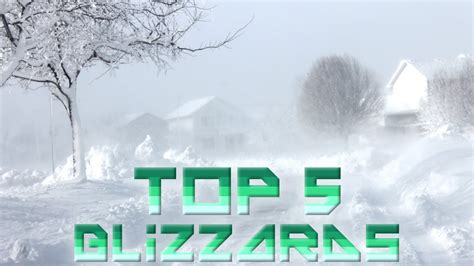 worst blizzards ever 5 worst blizzards ever youtube