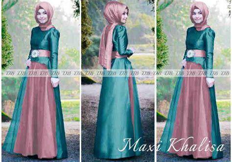 067624 syahrini tosca baju muslim maxi dress model baju gamis brokat untuk pesta hairstylegalleries