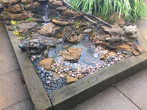 Pondless Water Feature   Making Waves with Waterfall Foam