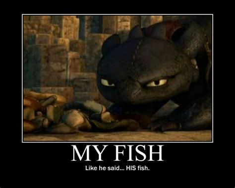 Toothless Meme - toothless and his fish by 6seacat9 on deviantart