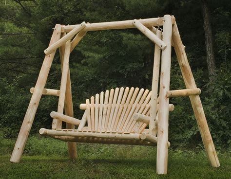 Handmade Log Furniture - handmade outdoor log furniture awesome outdoor log