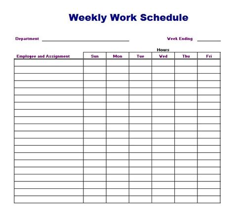 how does a scheduled c section work 4 work schedule templates word excel templates