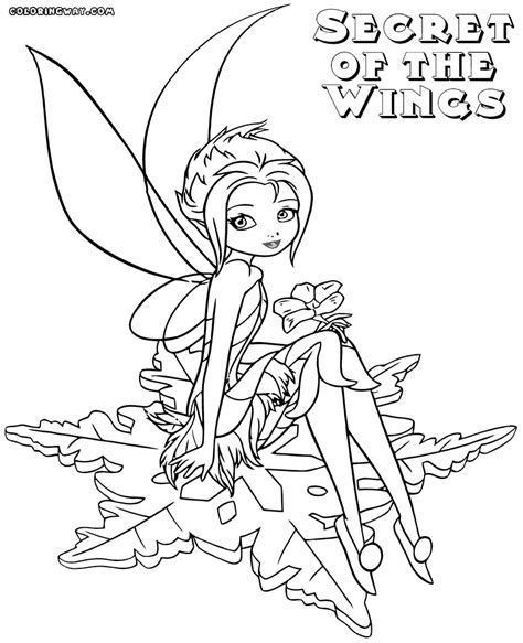 secret of the wings coloring pages coloring pages to
