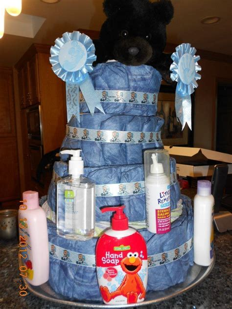 denim baby shower ideas denim cake baby shower cakes and favors