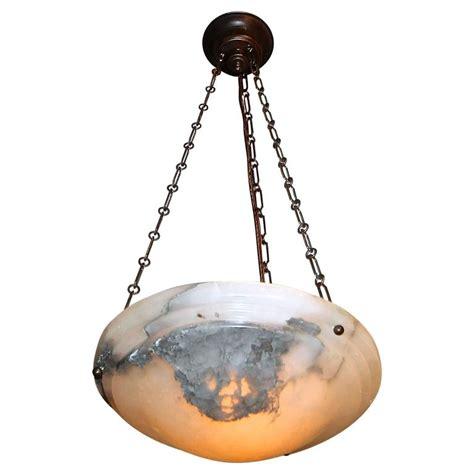 alabaster directoire style pendant chandelier