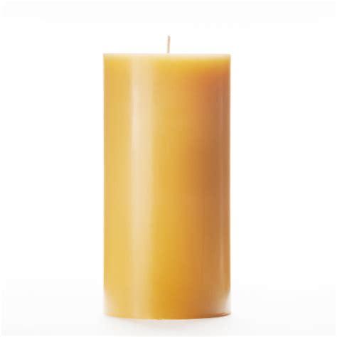 Yellow Candles 3x6 Yellow Pillar Candle
