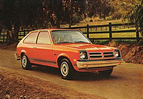 chevrolet chevette: information from answers.com