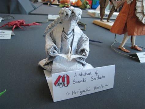 Sadako Origami - sasaki sadako statue horiguchi naoto gilads origami page