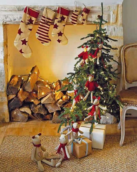 country homes and interiors christmas decoraci 243 n de navidad ideas para tu sal 243 n