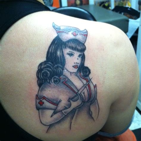 bettie page tattoo bettie page pin up rn tattoos