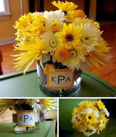 centerpieces made with gift bags fall wedding centerpieces on a budget for your